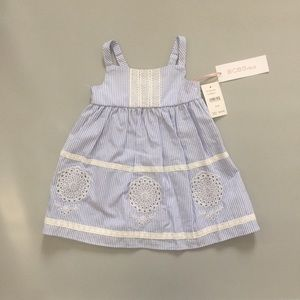 BCBG baby girl dress new